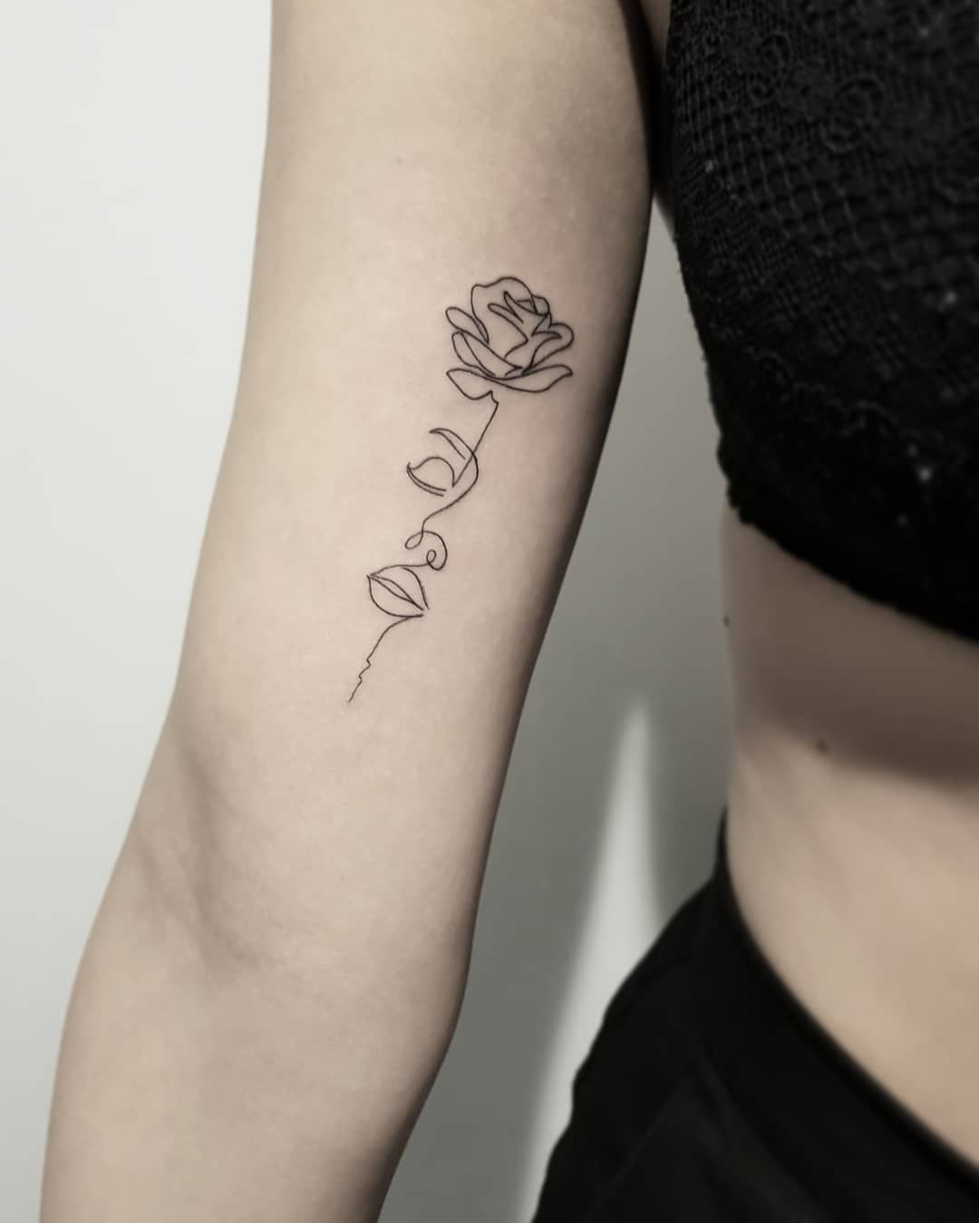 One Line Tattoo meaning – Find Your Meaning With a Best Small Tattoo
