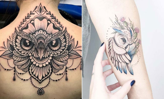 owl Tattoo Picture design Meaning Ideas