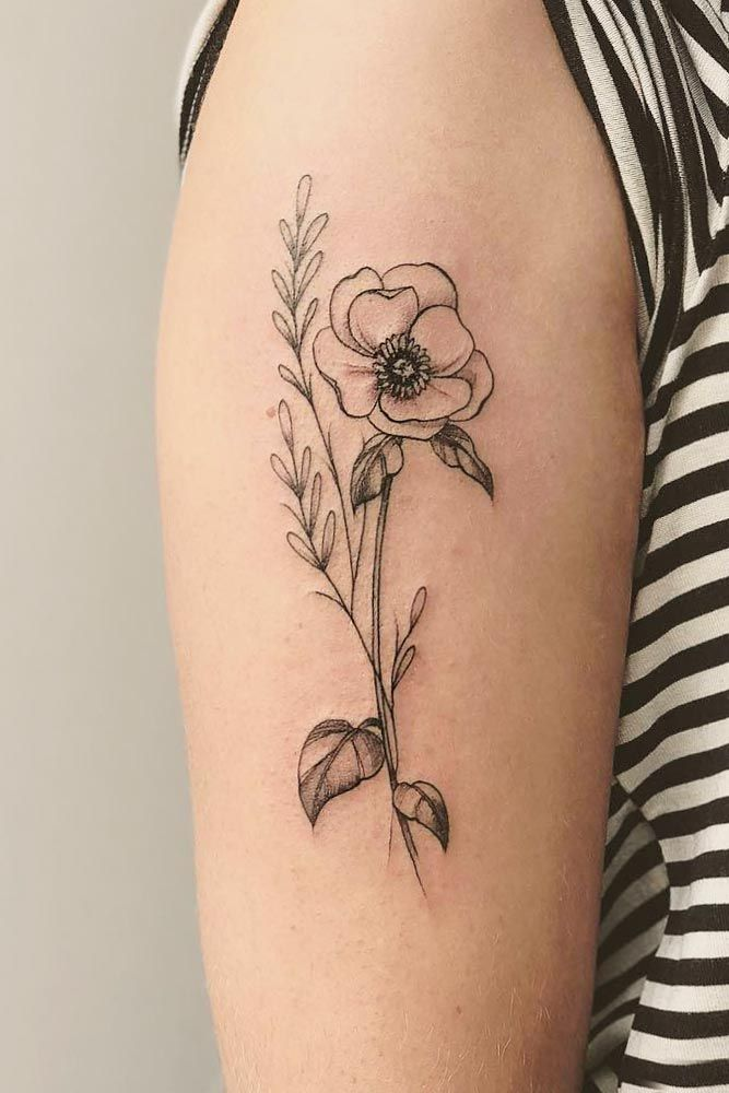 5 Tips For Finding the Perfect Poppy Flower Tattoo Picture design