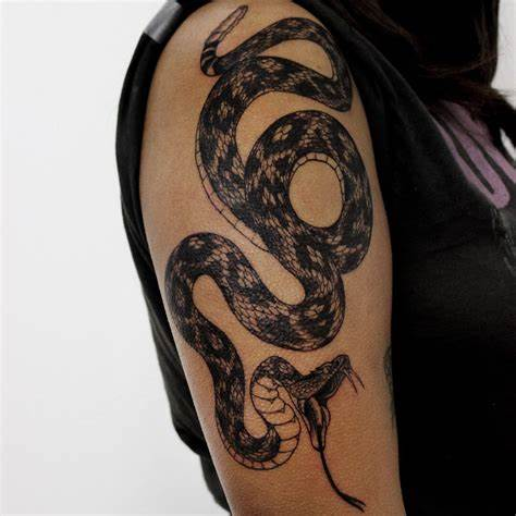 Rattlesnake Tattoo design Ideas – Snake Pictures Make Cool Decoration