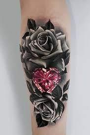 Some Unique and Beautiful Rose Tattoo idea