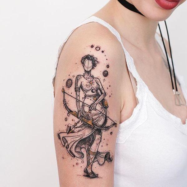 Sagittarius Tattoo Female Design – Your Ultimate Guide