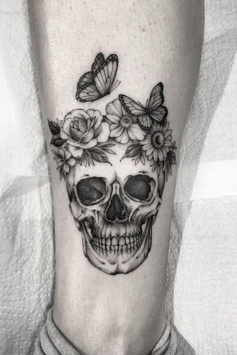 Skull Tattoos For Females – Different Types of Designs That You Can Choose From