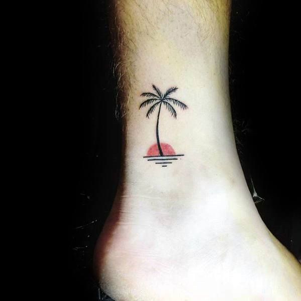 Small Palm Tree Tattoo design Ideas – Finding Small Tree Picture designs
