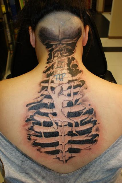 Spine Tattoo Design Meaning For Men – How to Find the Perfect Spine Picture design For You!