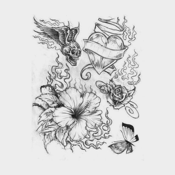 Ideas For Finding Tattoo Designs On Paper