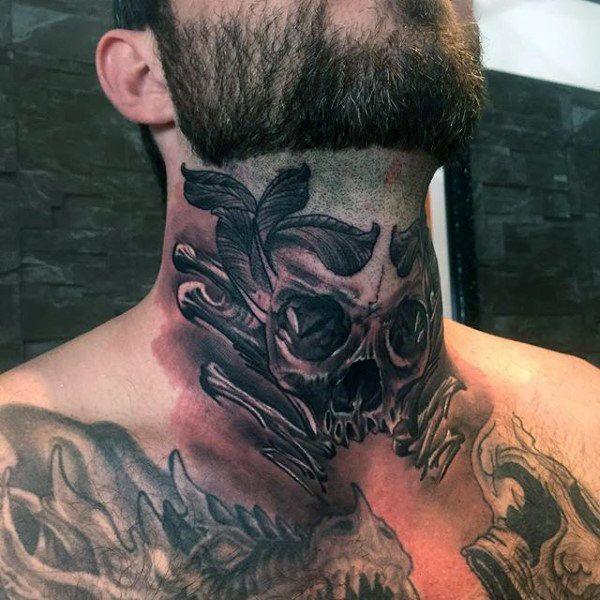 Throat Neck Tattoo – Unique Design Ideas For Your Throat Tattoo