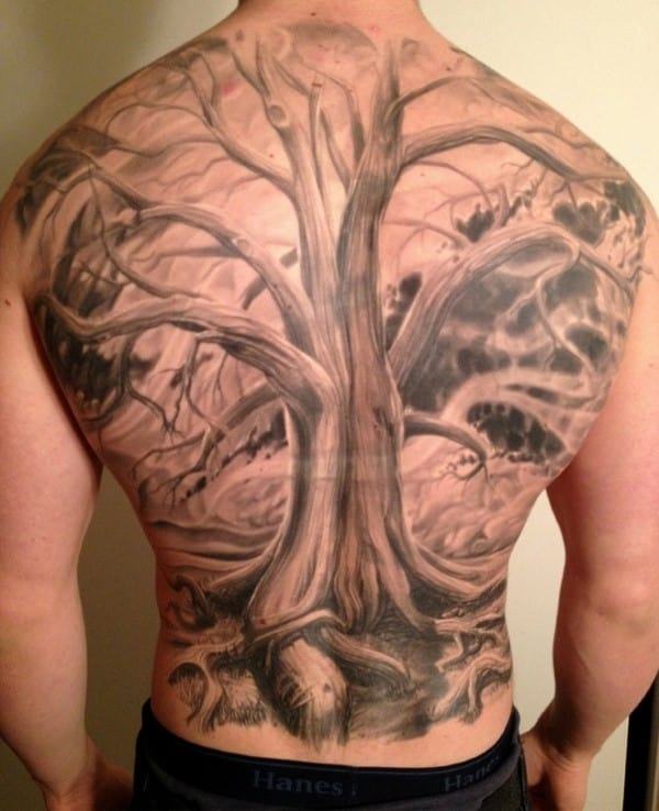 Tree Back Tattoo Drawing Tips – 3 Things That You Must Know Before Getting a Tree Back Tattoo