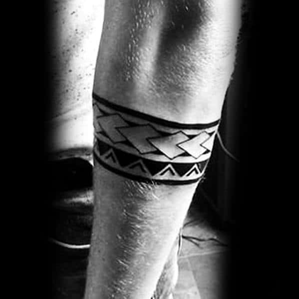 Tribal Band Tattoo Picture design – Small Or Large?
