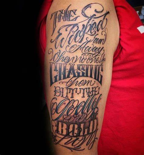 Verse Tattoos Pictures – Is Small Image ideas With Verse Designs Still Popular?