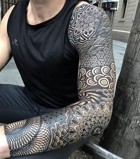 Black and White on Black Tattoo Drawing – Best Picture design?