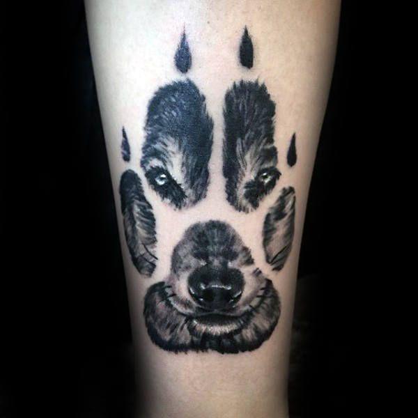 Wolf Paw Tattoo design – Modern Image ideas
