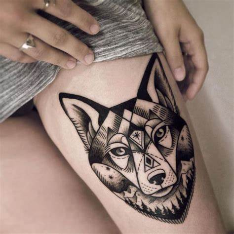 Wolf Tattoo For Women – Find Out the Most Feminine Looking Pictures For Women