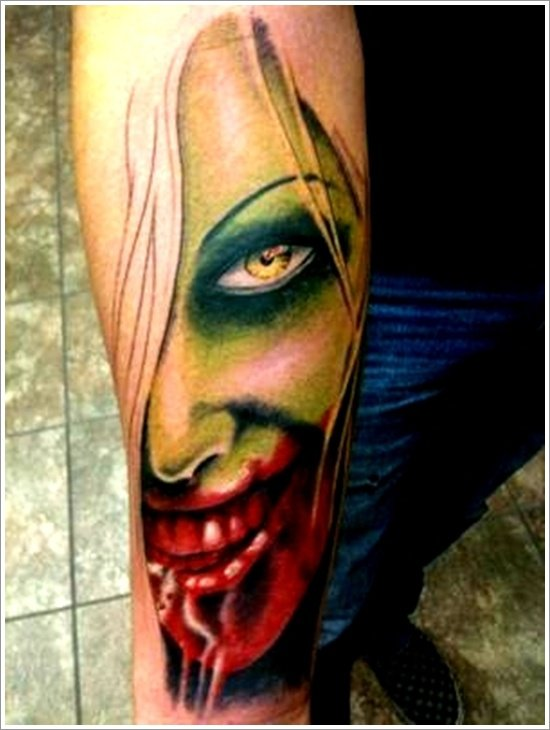 Zombie Tattoos – Modern Image ideas For 2021